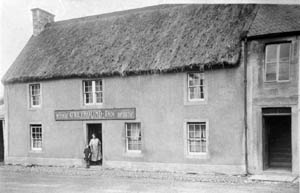 Sorn - The Greyhound Inn, now sadly gone.